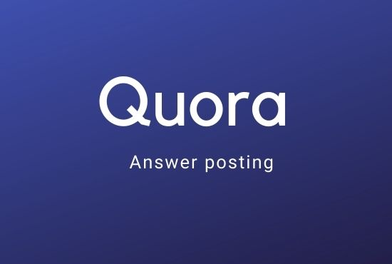 Promote your website 5 high Quora Answer with your Keyword & url