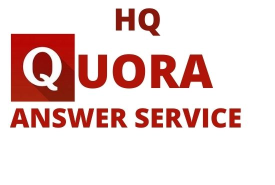 I will give 5 High Quality Quora Answer with Keyword and URL