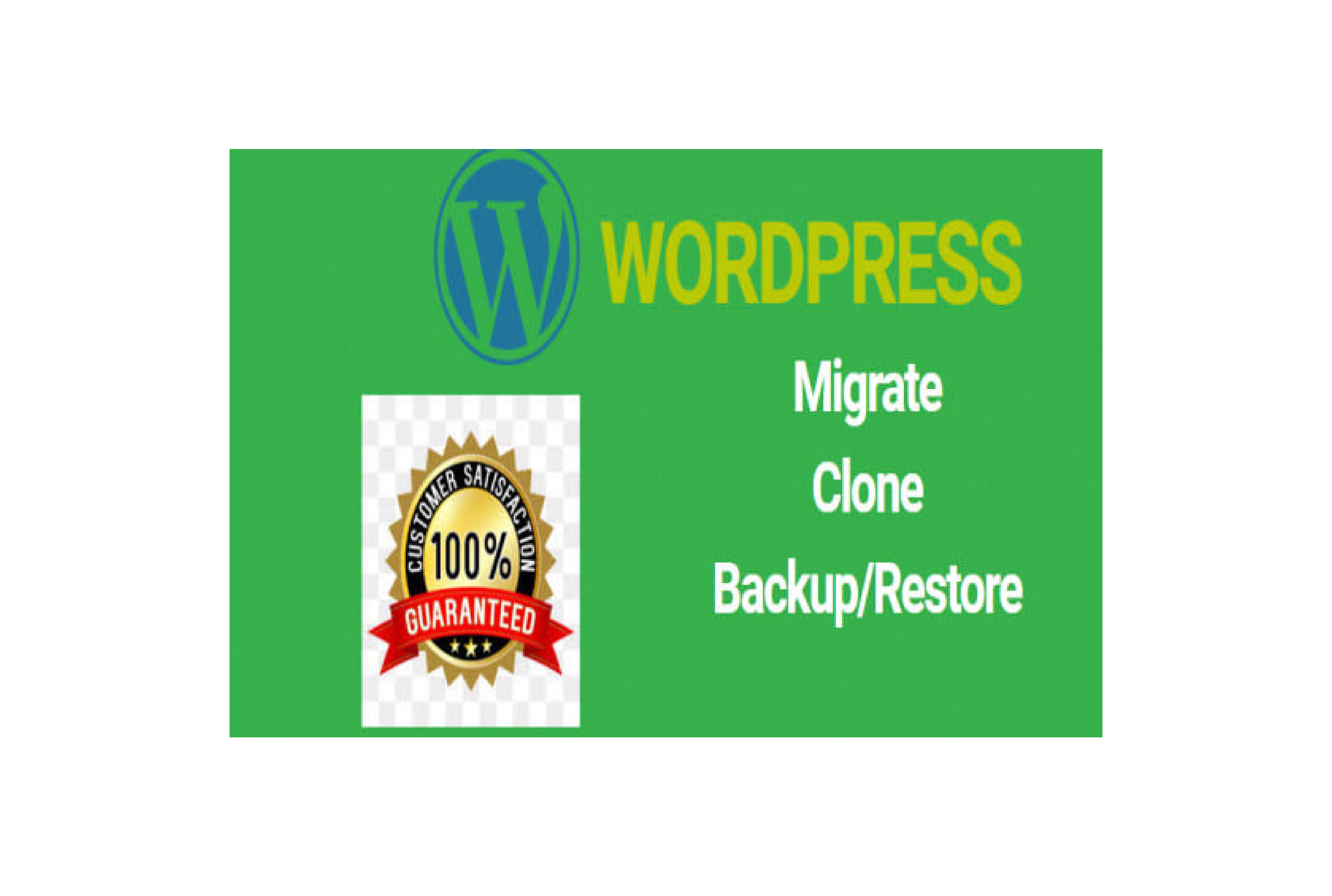 I will migrate wordpress website new hosting