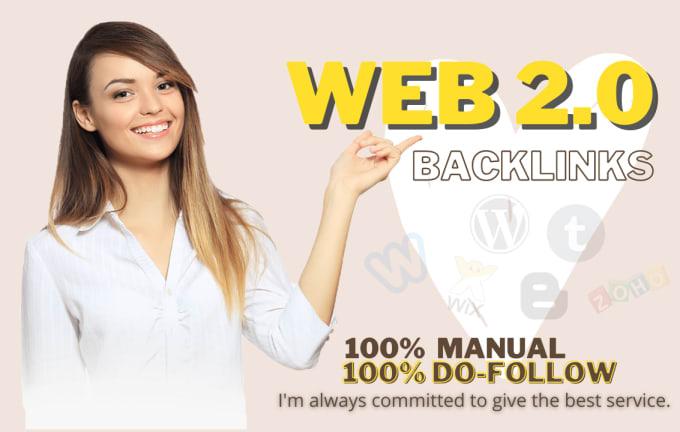 I will built high authority web 2.0 backlinks