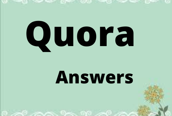 Promote your website3 HQ Quora answers with your keyword & URL