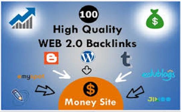 I will build 25 web 2 0 backlinks