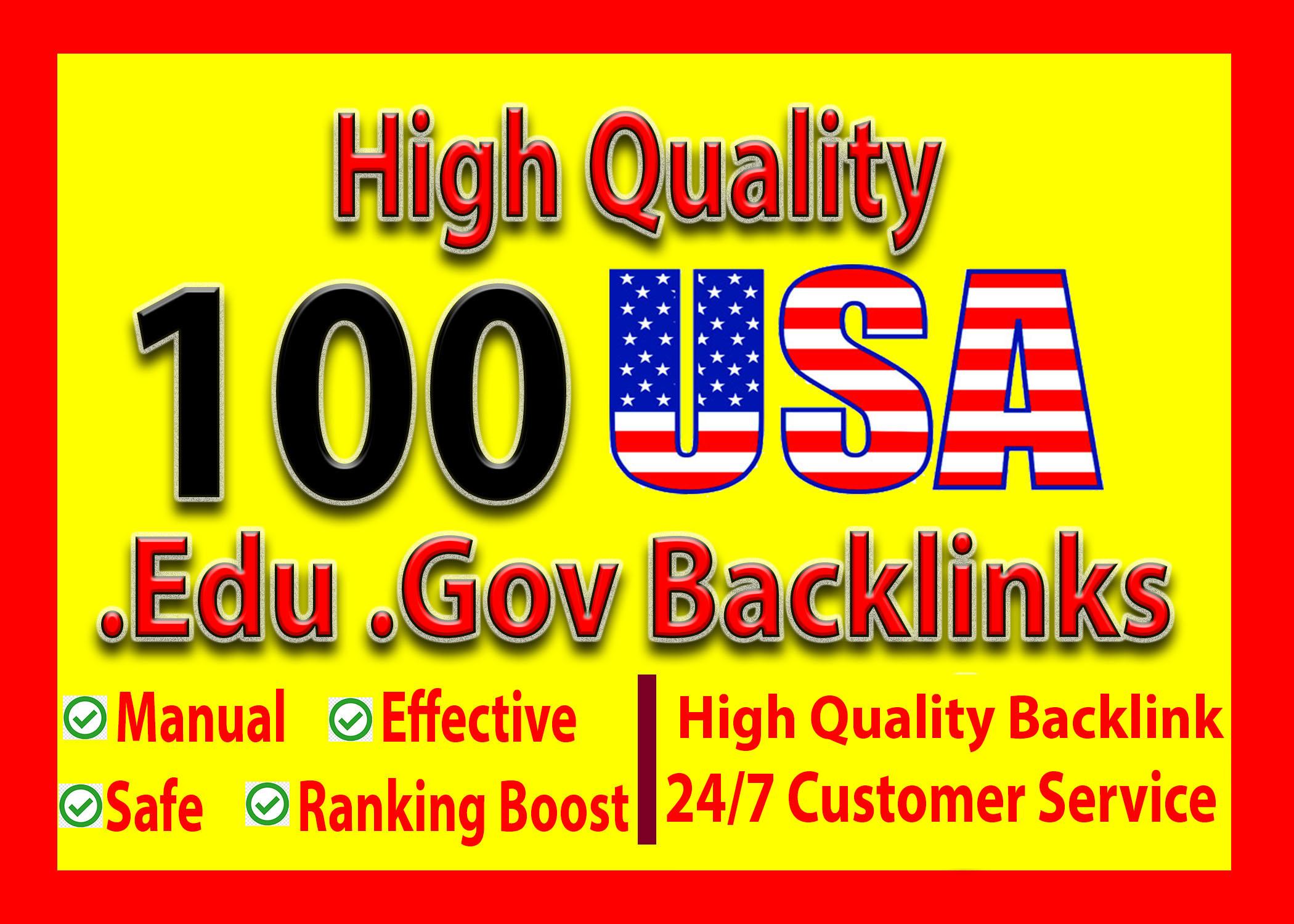 I Will Build 100 USA High Authority Edu Gov Backlink For Google Top Ranking