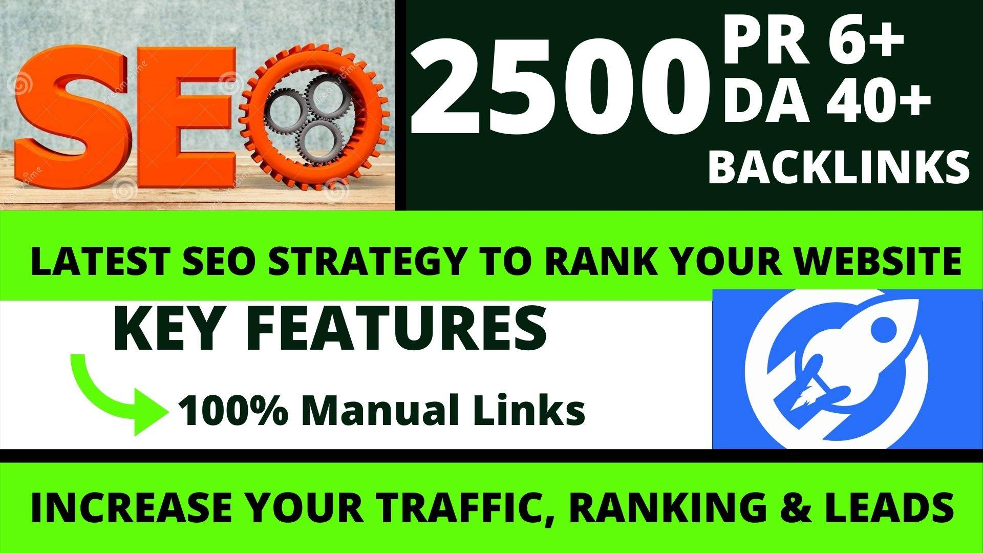 Get powerfull 2500 pbn backlink with high DA/PA/TF/CF on your homepage with unique website