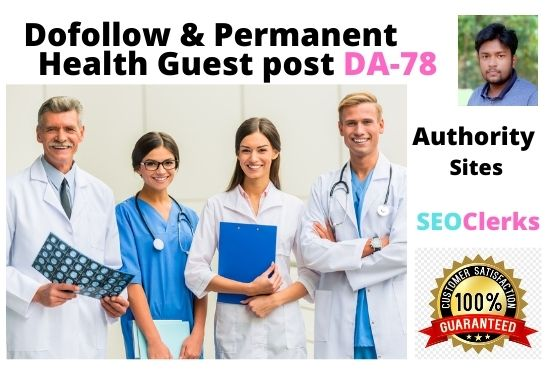 SEO Guest Blogging Provide Dofollow Backlinks DA 78