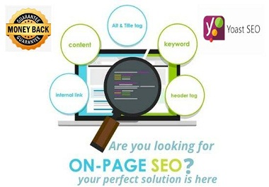 I will provide wordpress onpage SEO service to rank your website