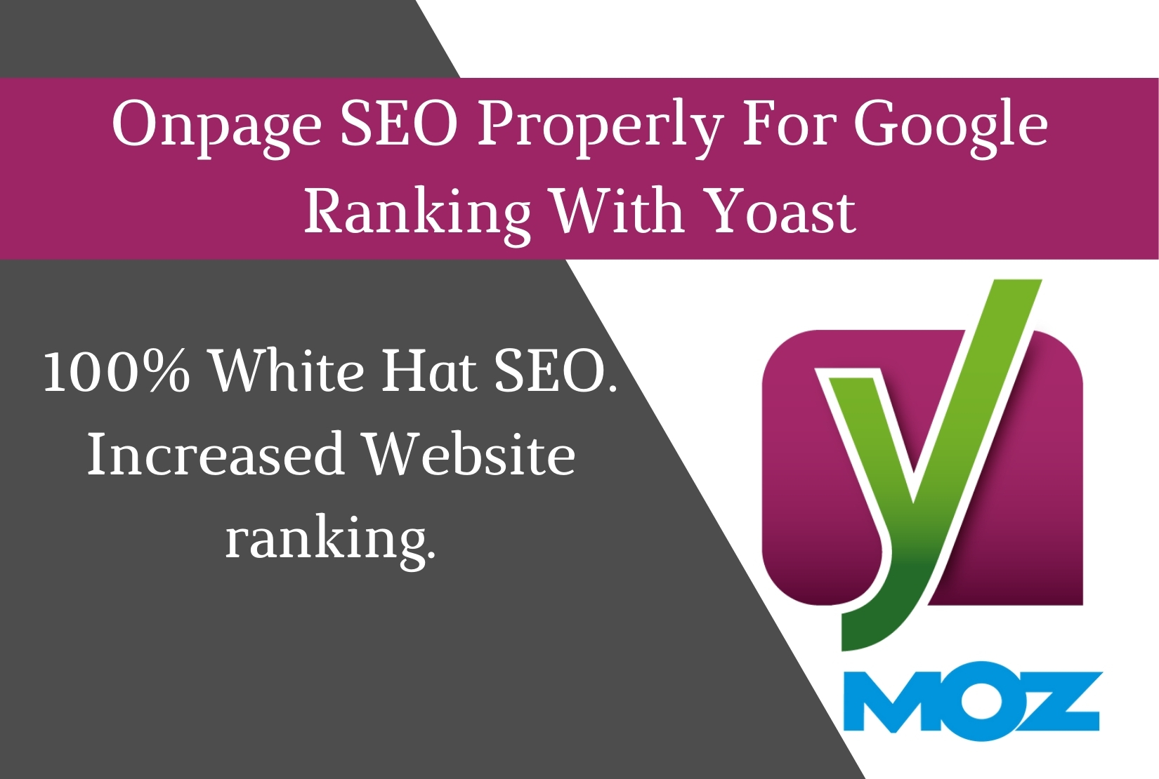 Onpage SEO Properly For Google Ranking With Yoast Seo