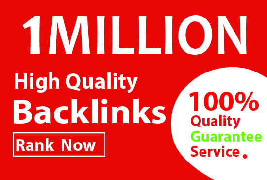I will Create 1 million GSA Backlink for paster link juice and ranking