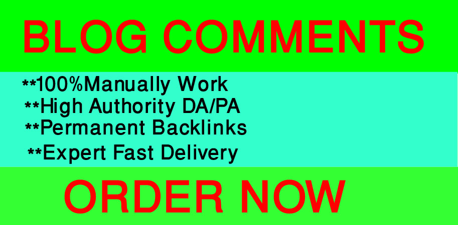 I will create 500 Blog Comments On High-quality DA and PA Sites.