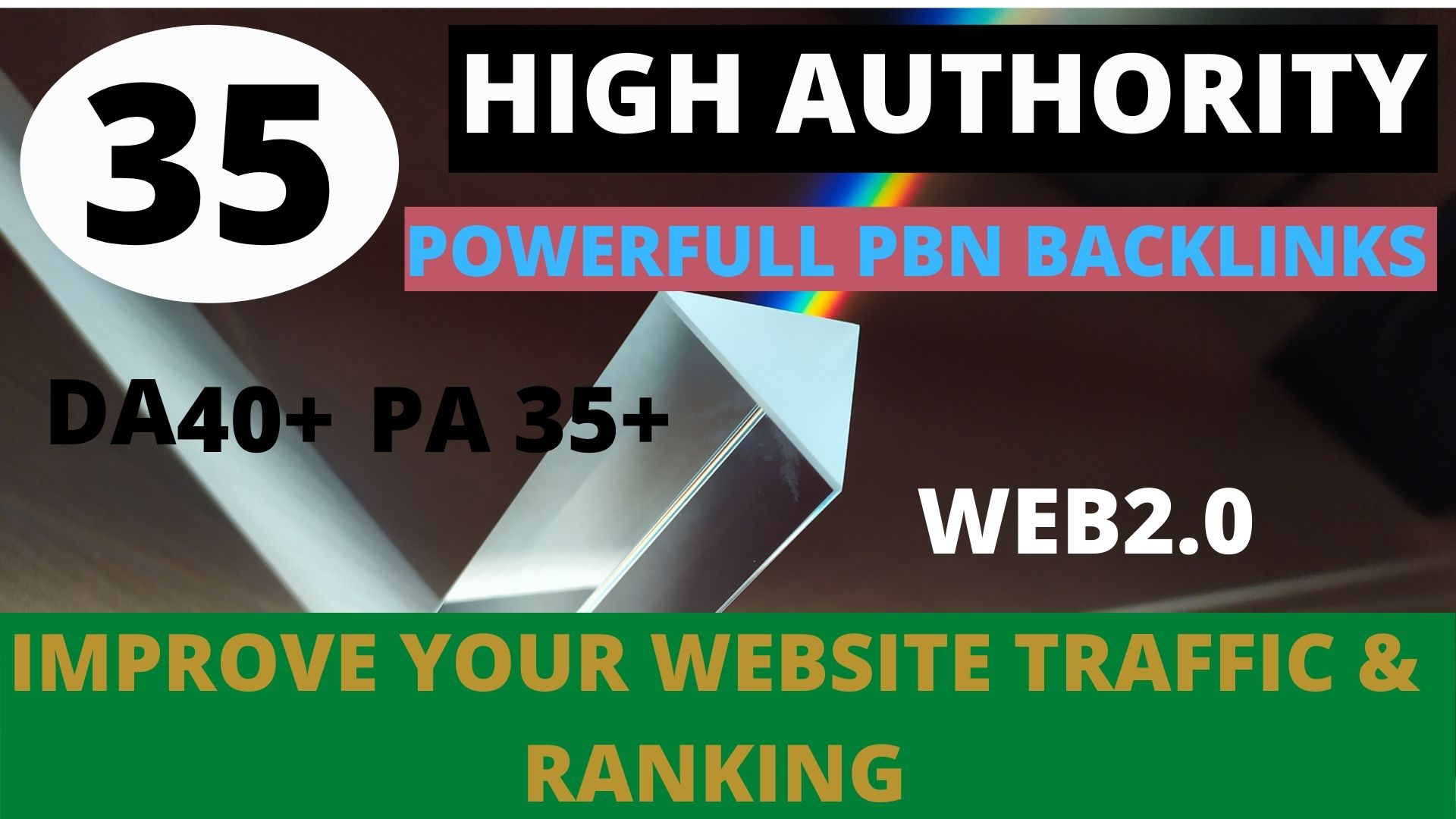 Build 35+ pbn backlink with high DA/PA/TF/CF on your homepage with unique website