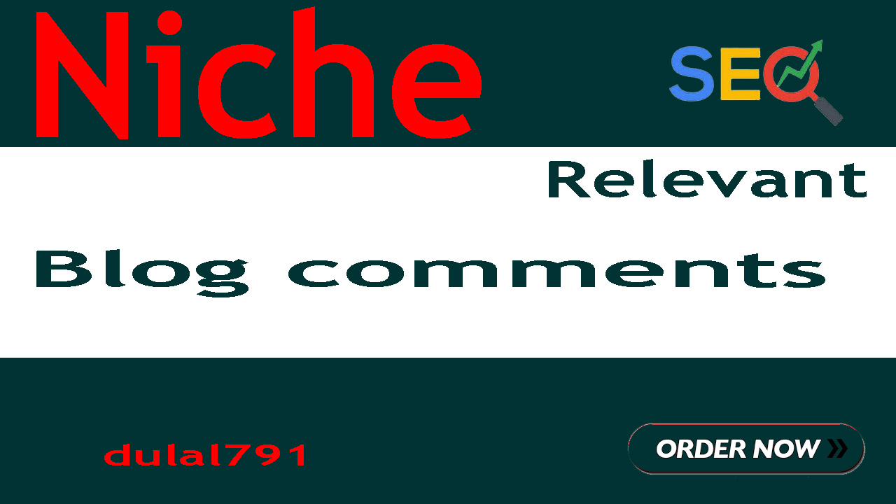 I Will Create 40 Niche Relevant Blog Comments Backlinks On High DA