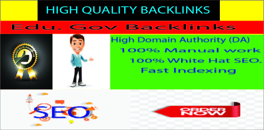provides 20 Edu high authority backlinks