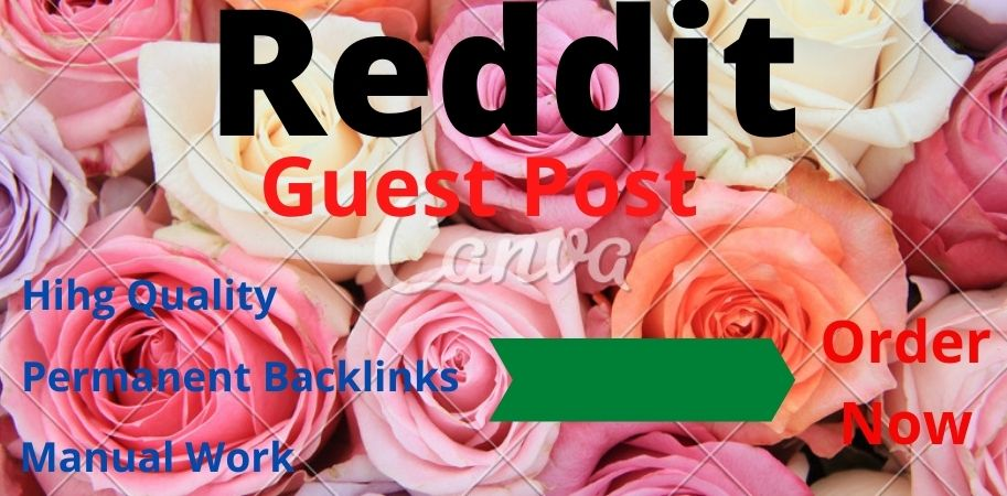 Published 10 High Quality Guest Posts on Reddit. com