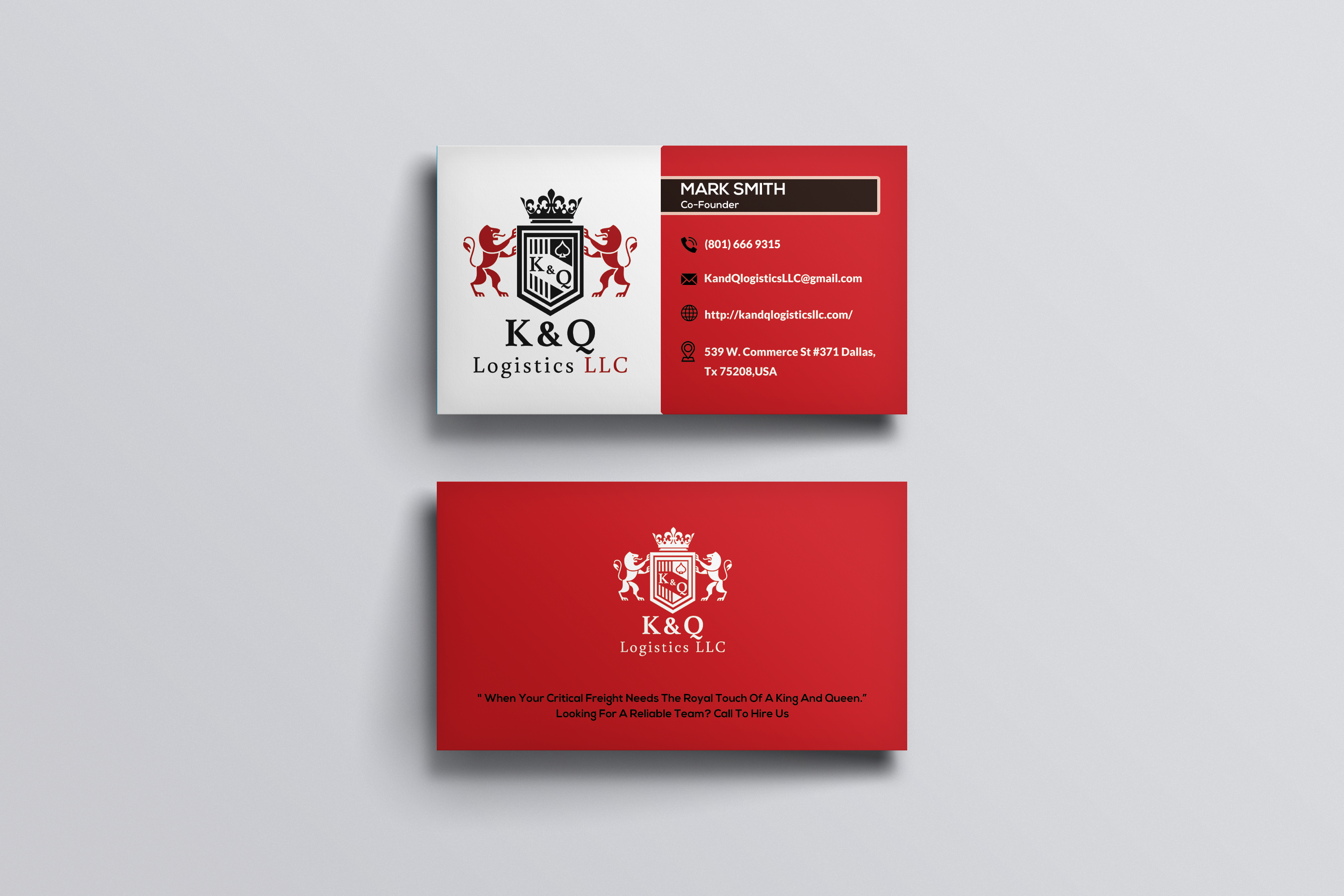 professional minimal and elegant business cards