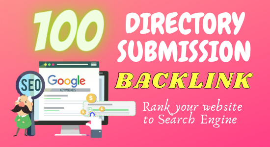 I will build up web directory submission backlink to all high DA PA site