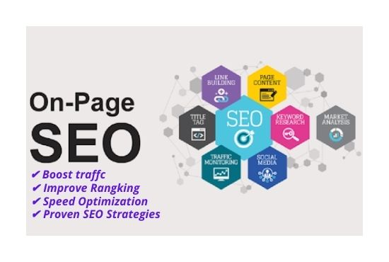 I will optimize On page SEO strategies on your website rangking