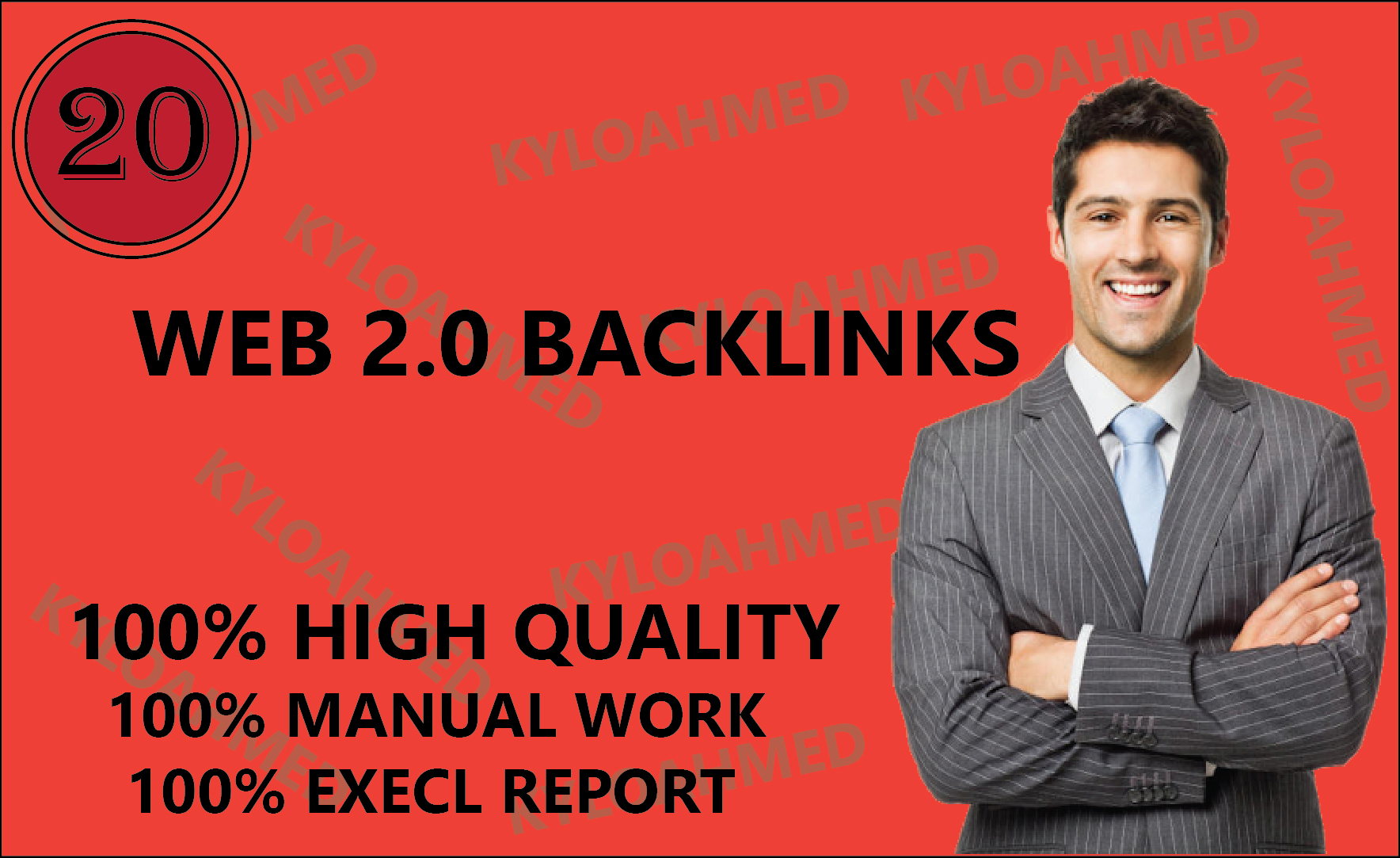 I will build 20 manually web 2.0 backlinks and high quality backlinks