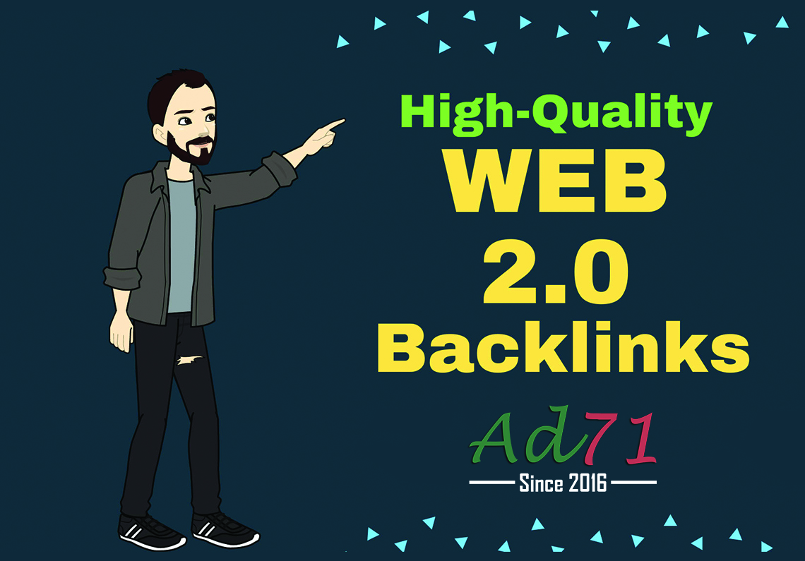 I will provide 30 Web 2.0 Contextual backlinks to push your website on the 1st page of Google