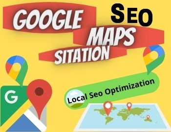 I will create Manually 150 google point map citations with your business description for local SEO