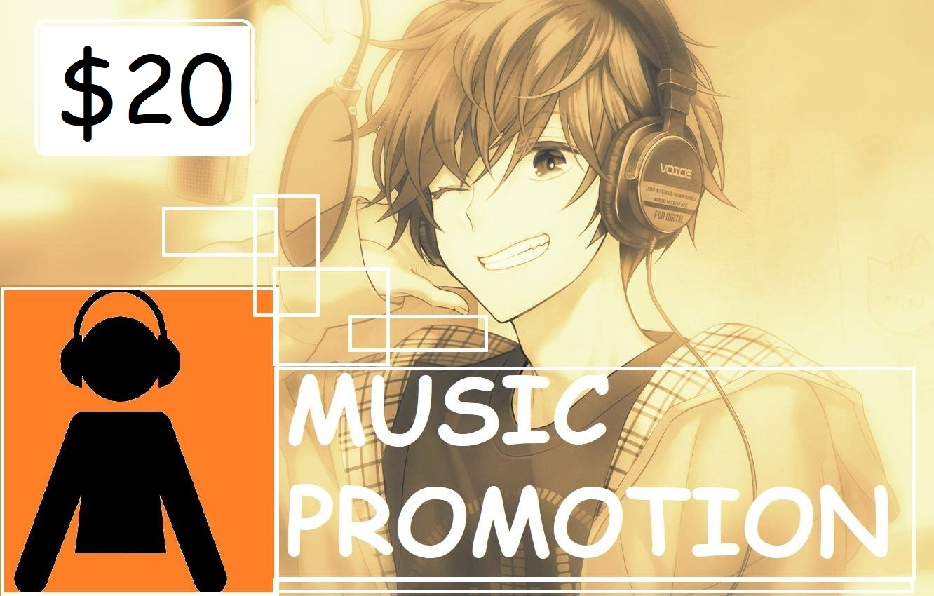 Purchase huge Music promotion status changing package