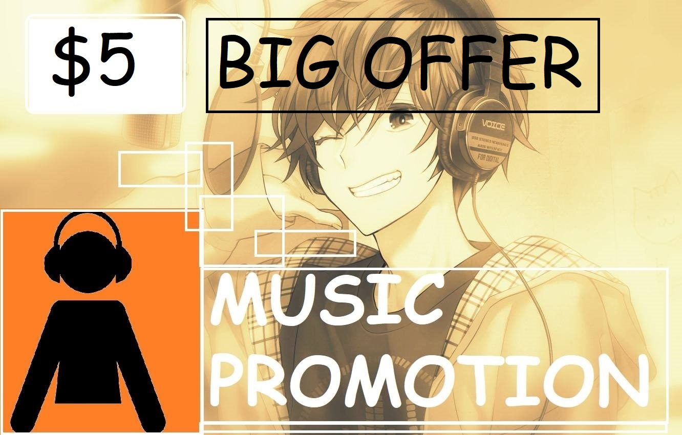 Will Boost Your Status with huge music promotion to your track or playlist