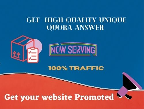 I will write and publish 5 High quality unique answer for your site