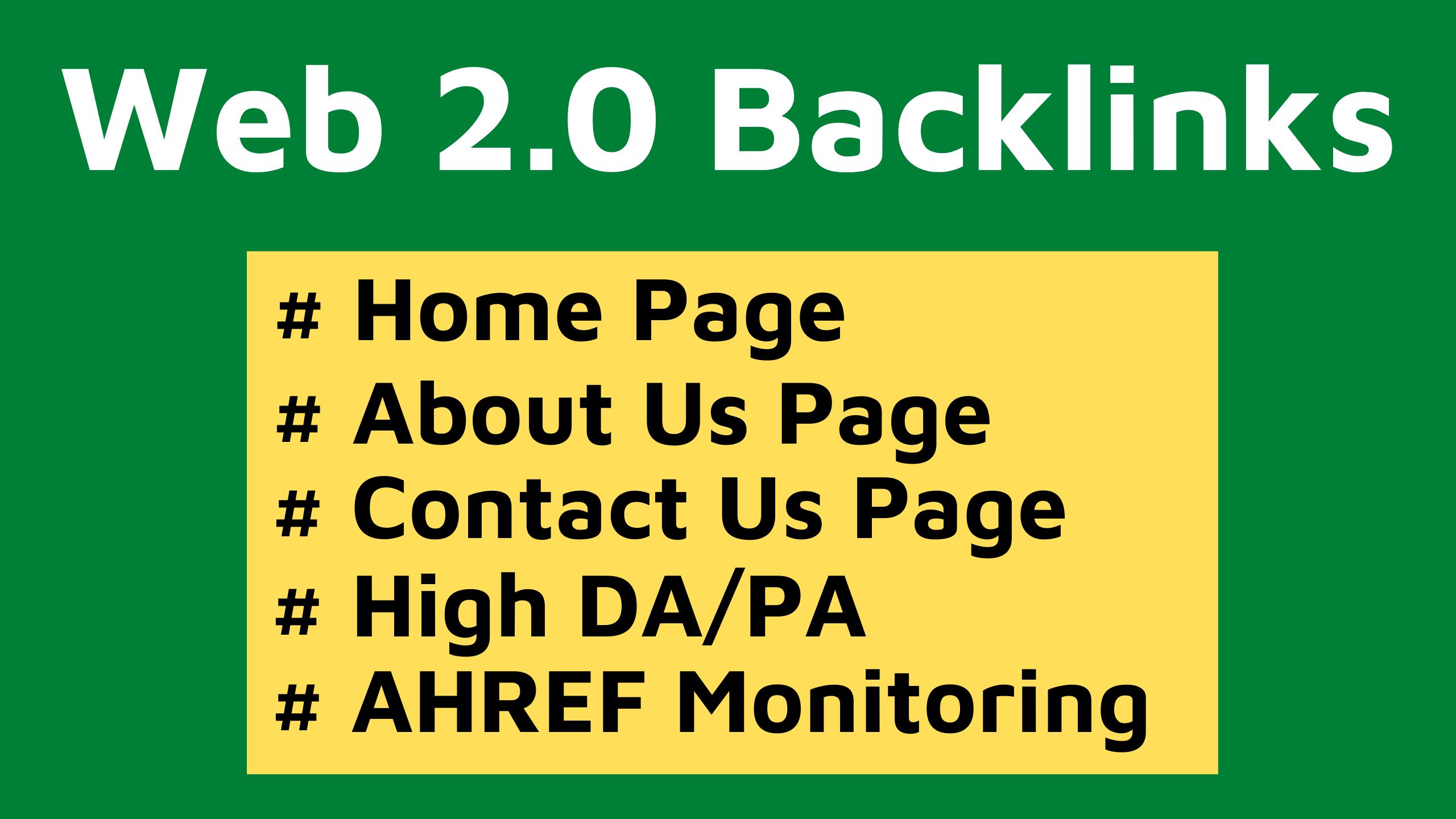 5 Web 2.0 Backlinks Manually Create-2020