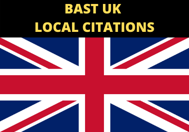 I will create best 50 LIVE UK local citation and directory submission