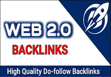 I will build 50 high authority web 2 0 backlinks and profile links