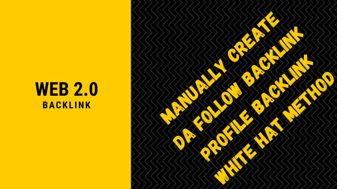 I'll build your blog with high authority do-follow 20 web 2.0 backlinks manually
