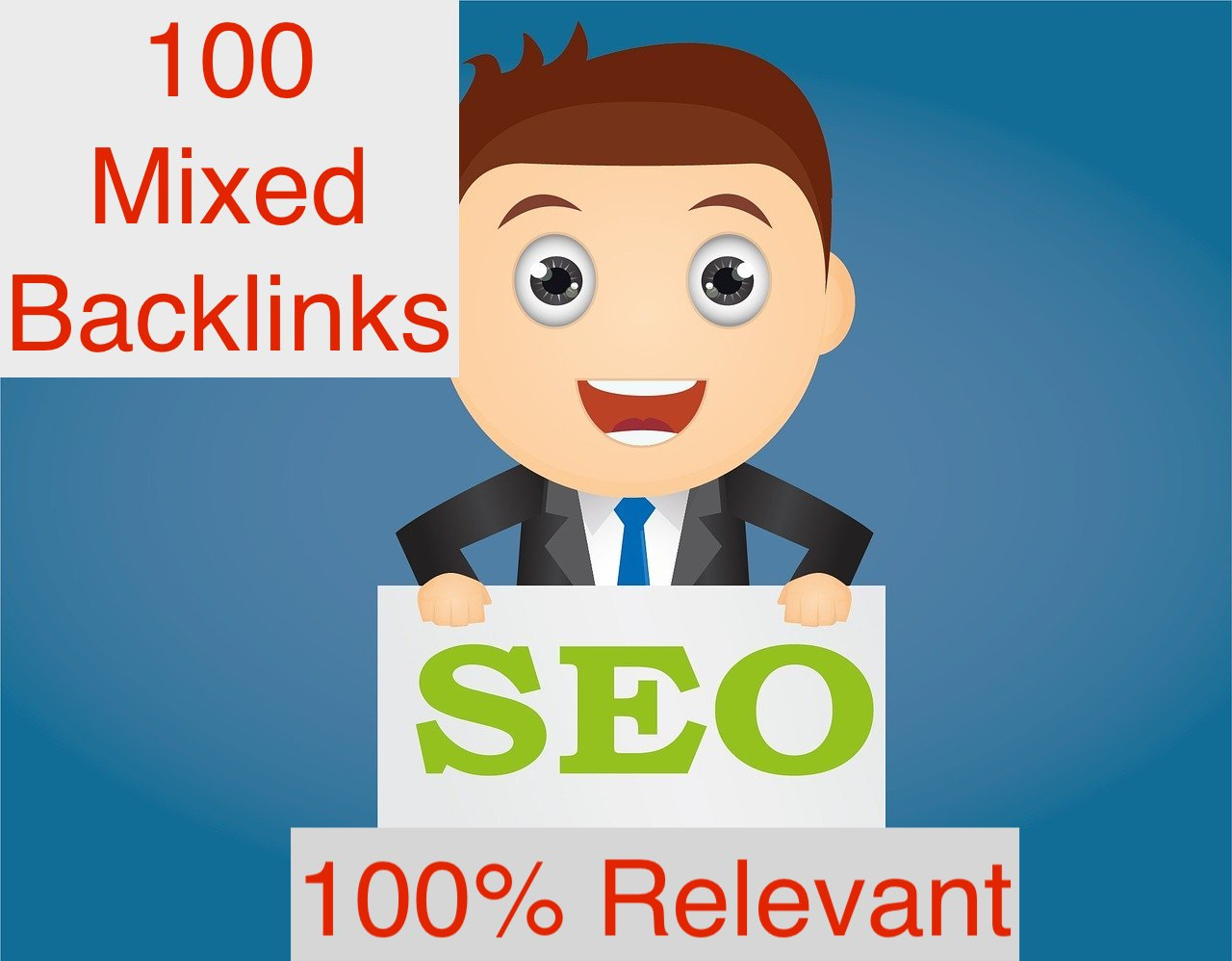 100 Dofollow Backlinks from High DR/DA/UR/PA Sites - Mixed DR Backlinks,  Result Guaranteed