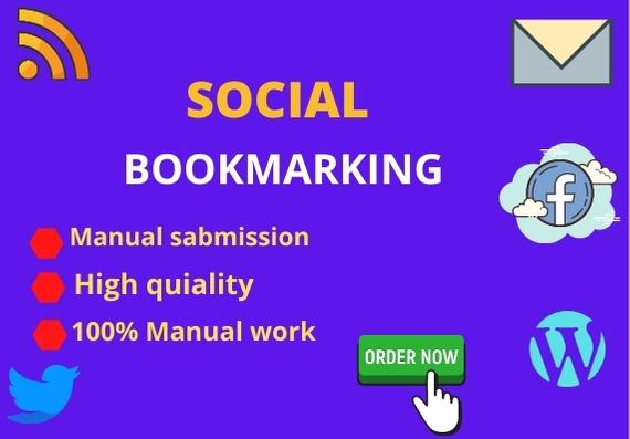 Build high 50 social bookmarking backlinks