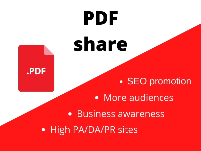 Share your PDF to top PDF sharing sites