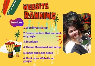 I will Install your website with WordPress and SEO to rank on google
