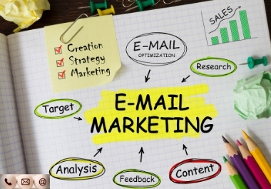 I will collect your niche targeted verified and fresh email list for business