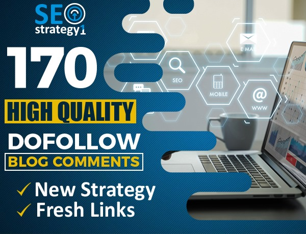 I will 170 high quality new strategy fresh unique domain backlinks