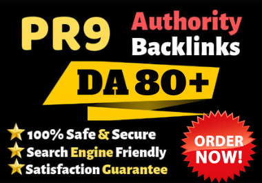 I will do manually 50 High Authority DA80+ SEO Profile Backlinks