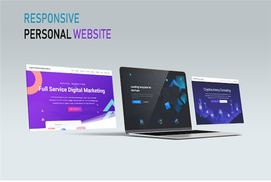 I will create a modern landing page or wordpress website with elementor pro