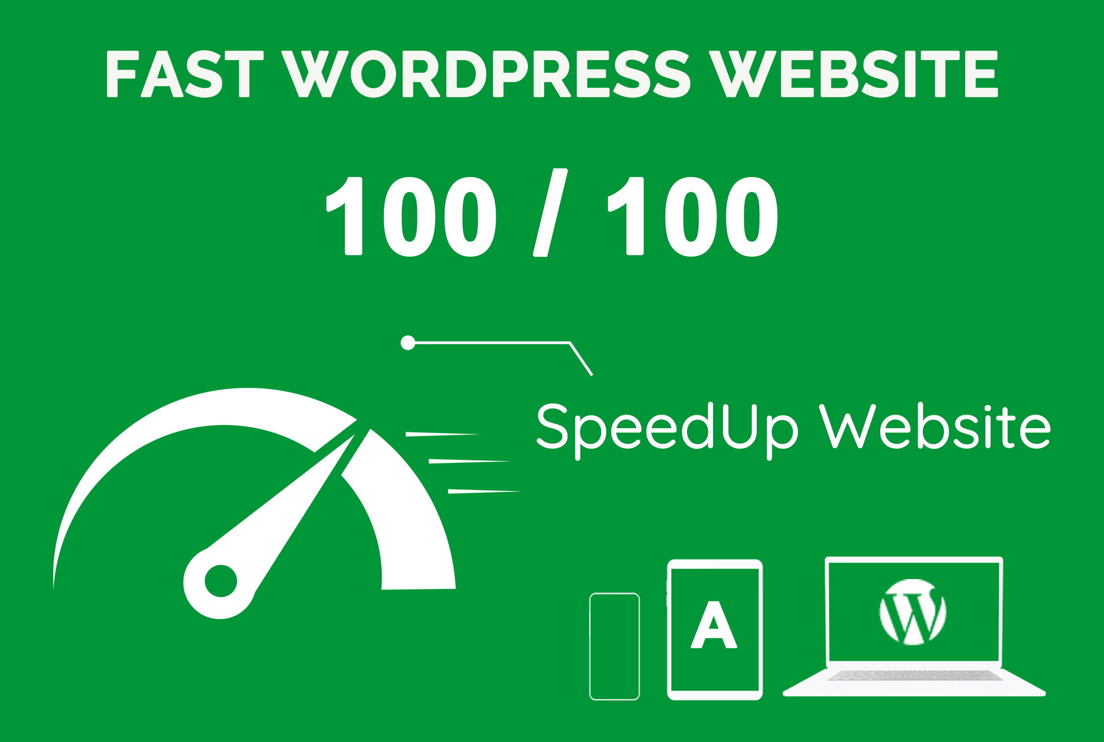 I will optimize wordpress website speed and improve gtmetrix,  google pagespeed score