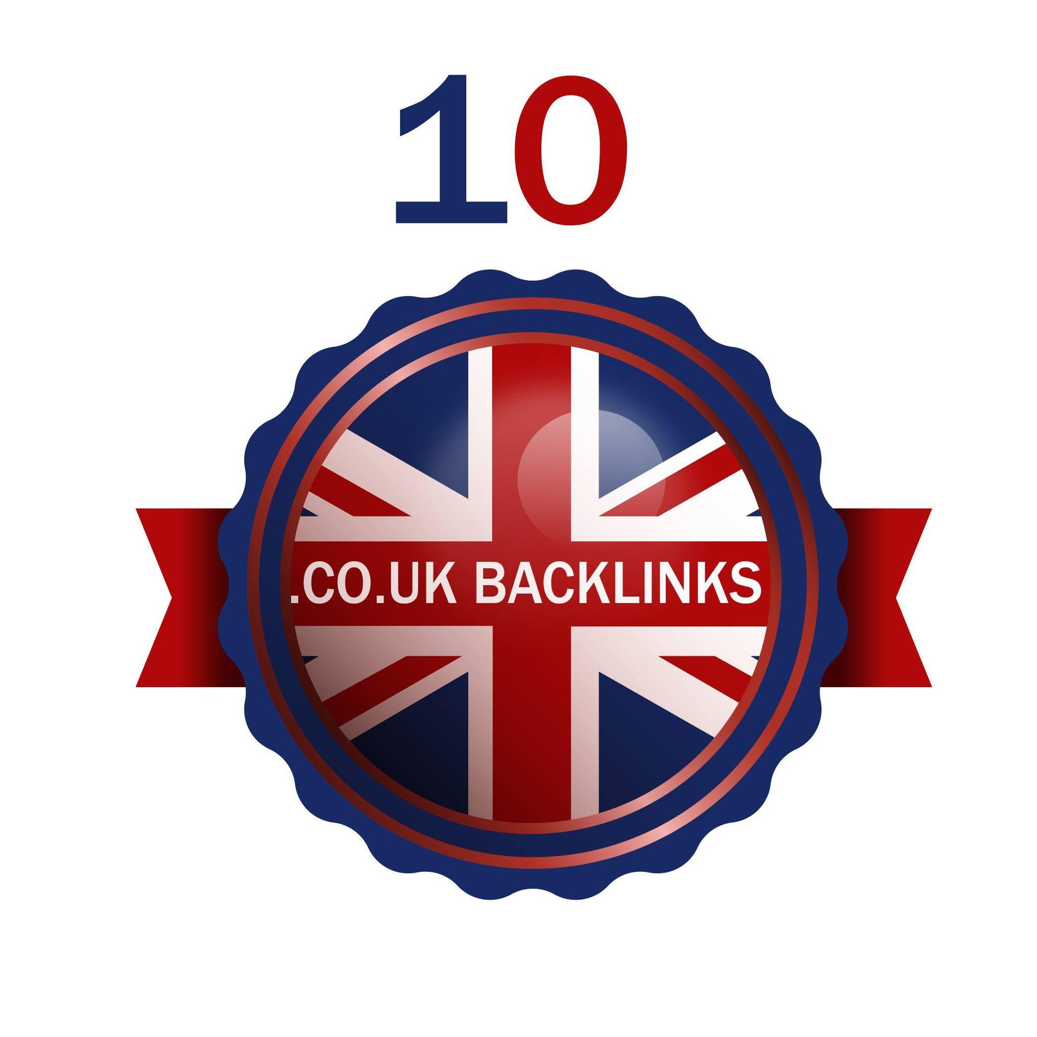 provide 10 manual. co. uk backlinks manual work website ranking