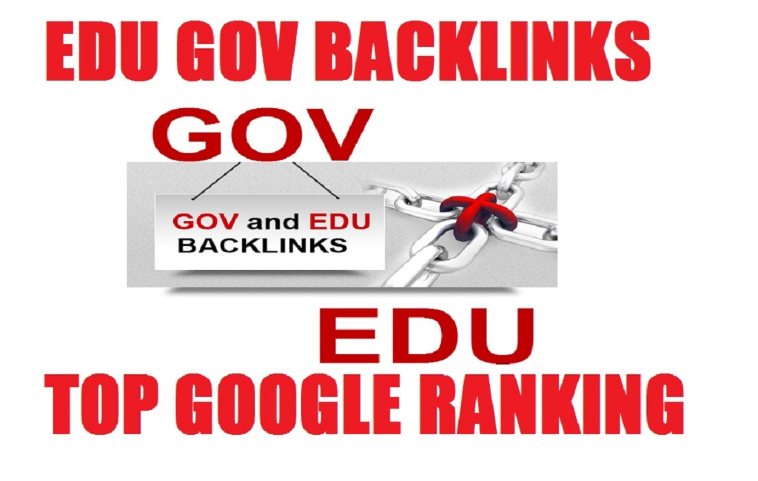 Do 50 edu gov and dofollow backlinks rank higher in google