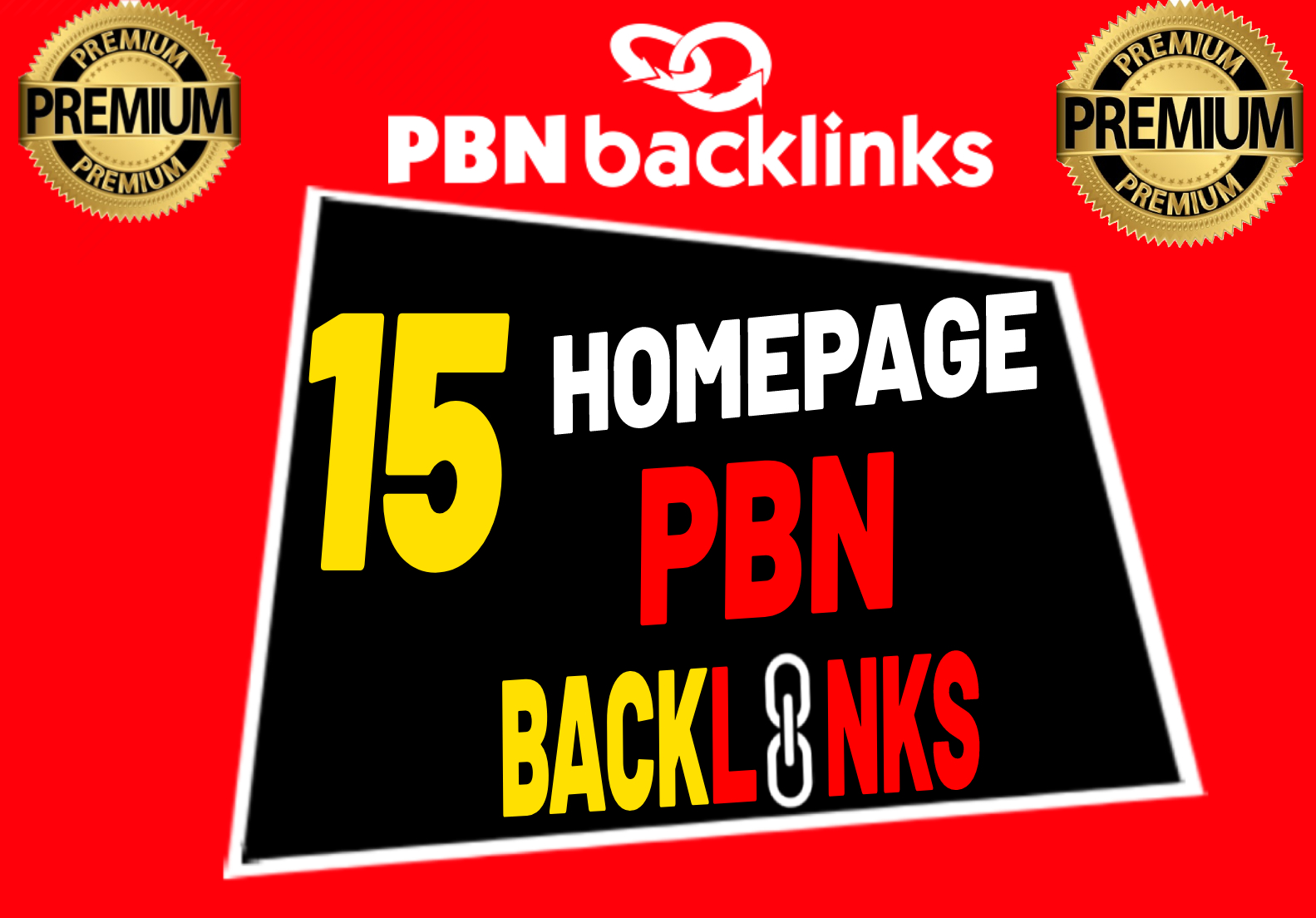 I will create high DA PA 15 Homepage PBNs Backlinks or PBNs Link Building