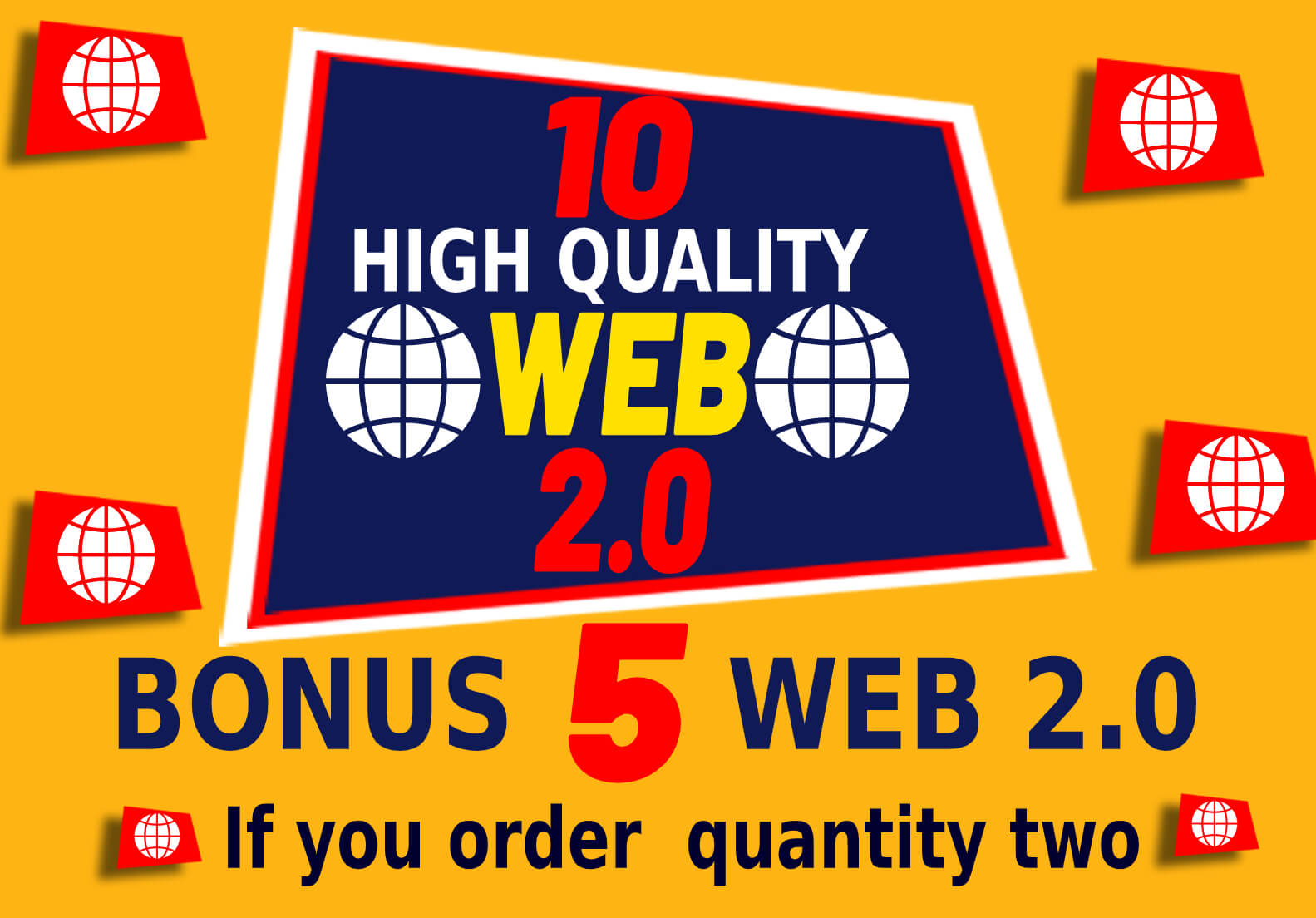 I will build 10 High-Quality Web 2.0 SEO Backlinks Creations