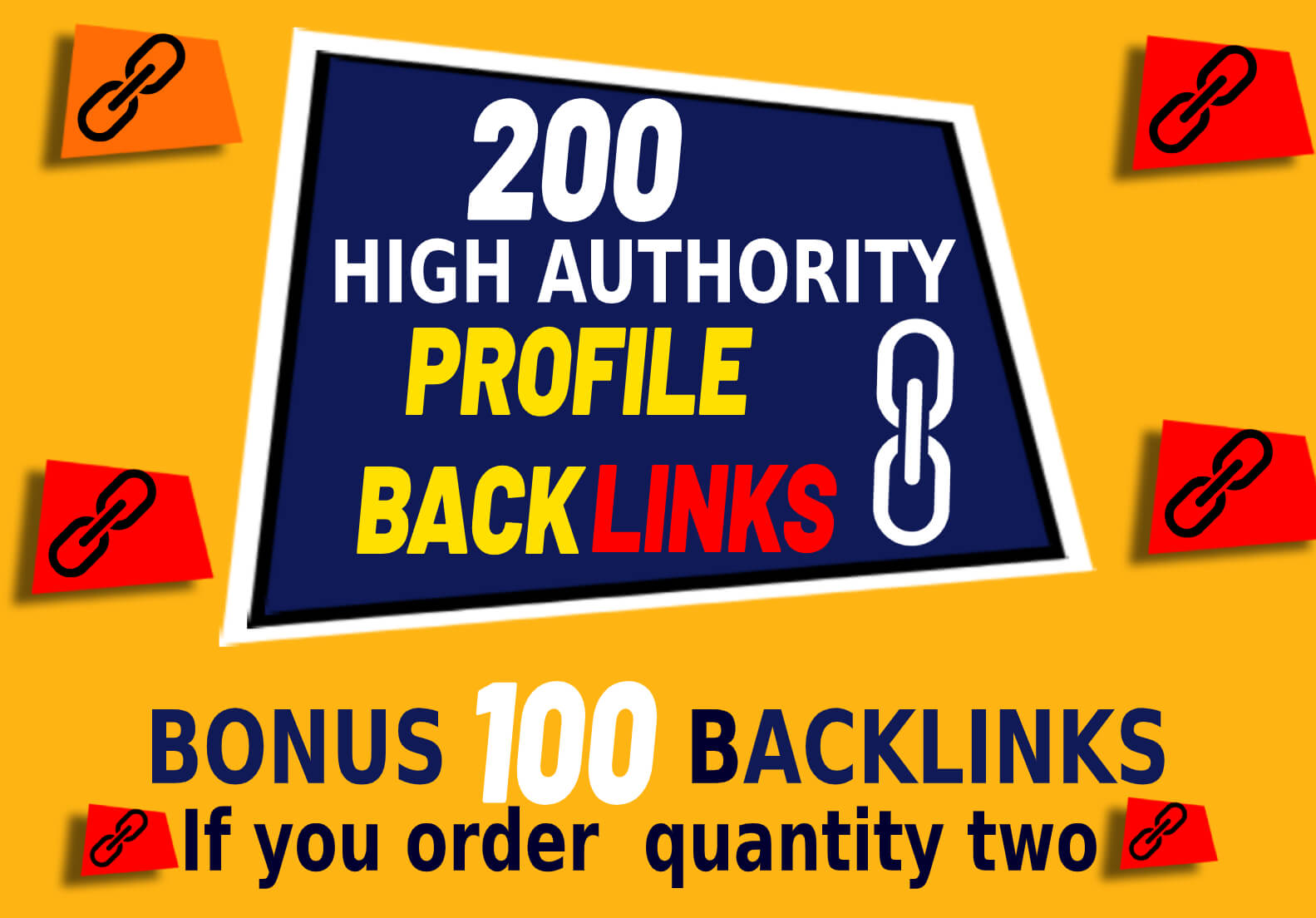 200 High DA SEO Profile Backlinks Creations or Profile Link Building submission manually