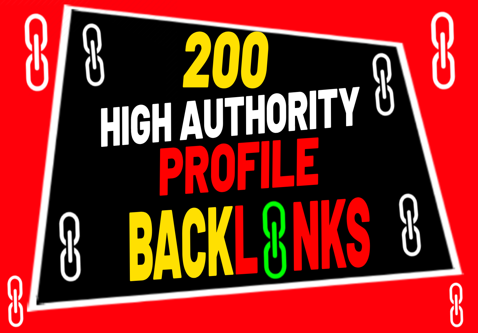 200 High DA SEO Profile Backlinks Creations or Profile Link Building manually