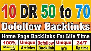 I will create 5 DR 60 to 75 PBN dofollw backlinks for good seo results