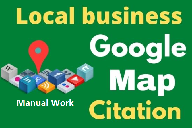 200 Google maps citation to rank your google business page, local citation,  directory