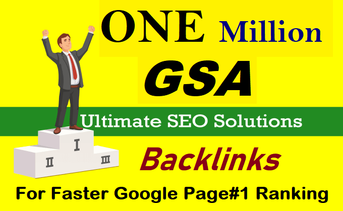 Website And Youtube Ranking Backlinks Blast by 1 million backlinks