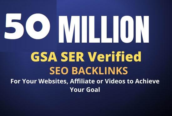 build 5 million dofollow tier backlink the best google ranking