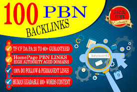 Build 100 HomePage PBN All. COM Domains Backlinks All Dofollow High Quality